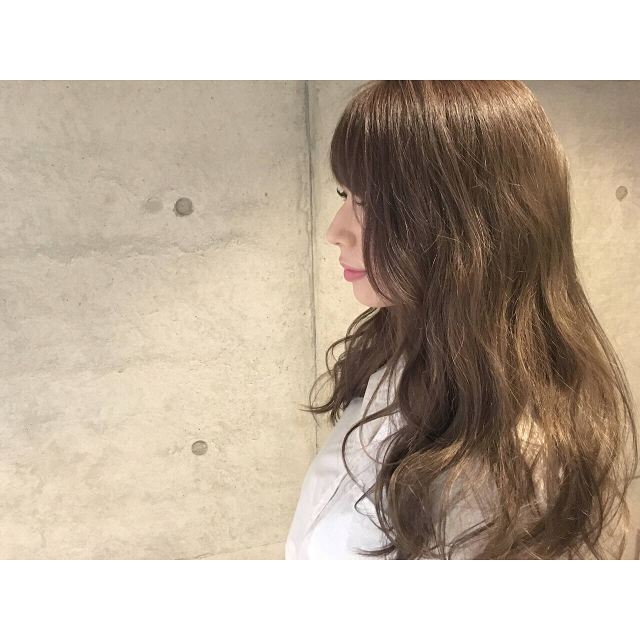 大人かわいい ゆるふわ グラデーションカラー 外国人風ヘアスタイルや髪型の写真・画像