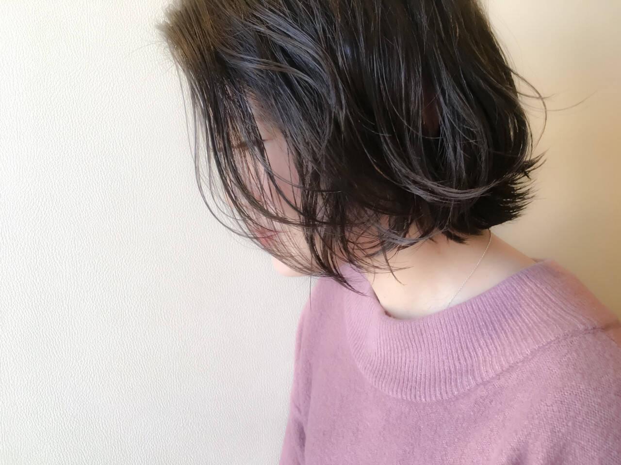 ガーリー ボブ 大人かわいい こなれ感ヘアスタイルや髪型の写真・画像