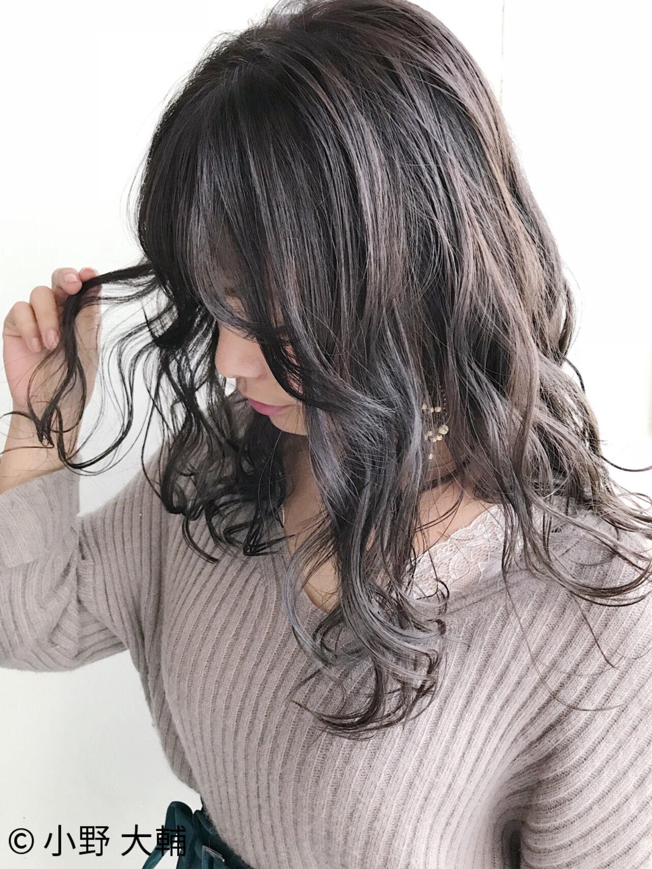 ラベンダー 外国人風カラー ラベンダーピンク ナチュラルヘアスタイルや髪型の写真・画像