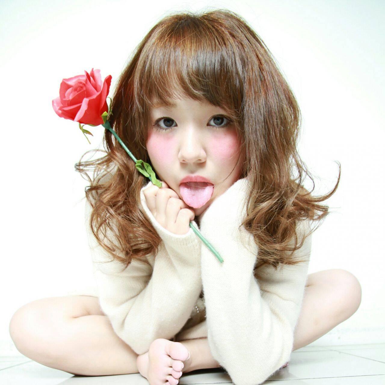 フェミニン コンサバ 春 愛されヘアスタイルや髪型の写真・画像