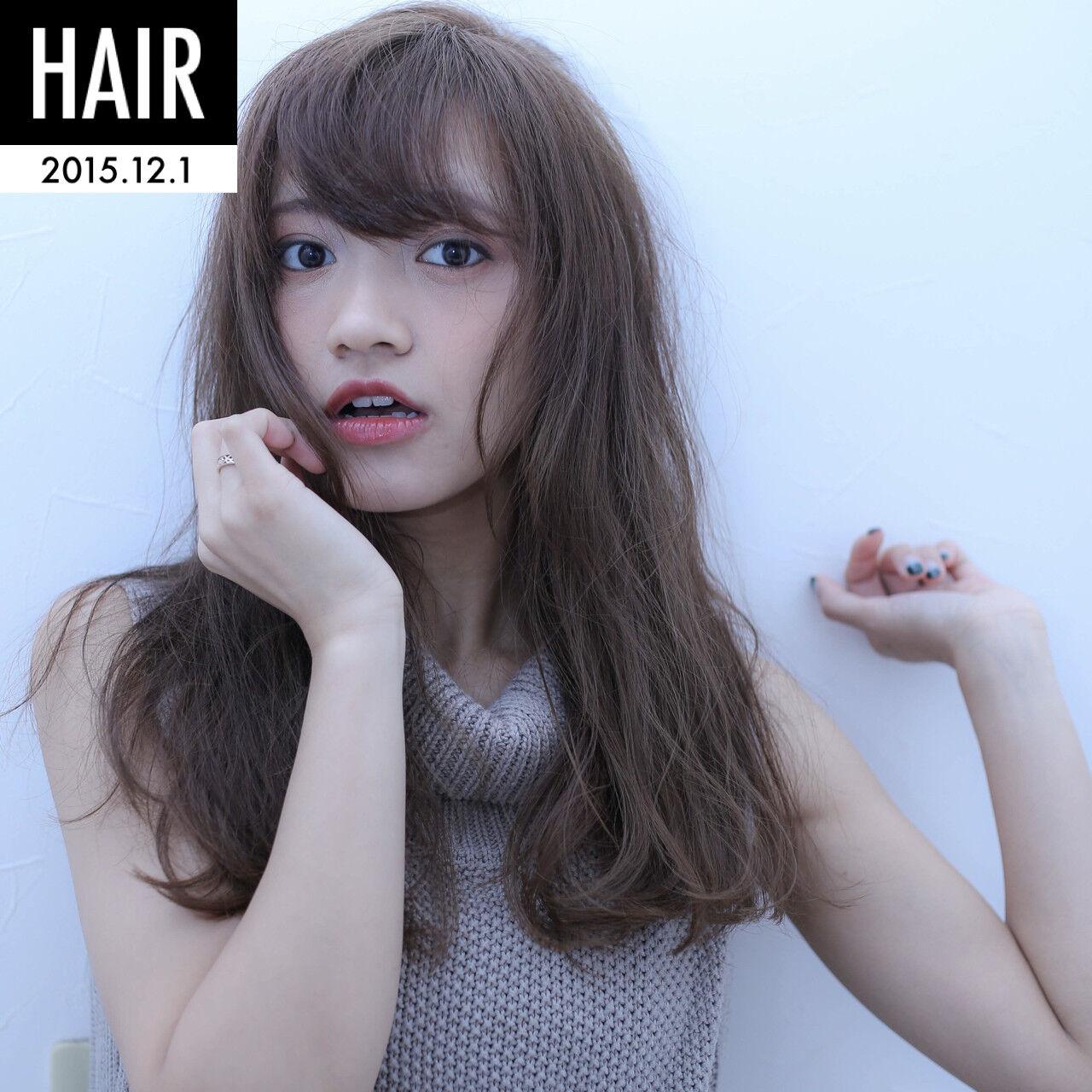 大人かわいい ナチュラル フェミニン ストレートヘアスタイルや髪型の写真・画像