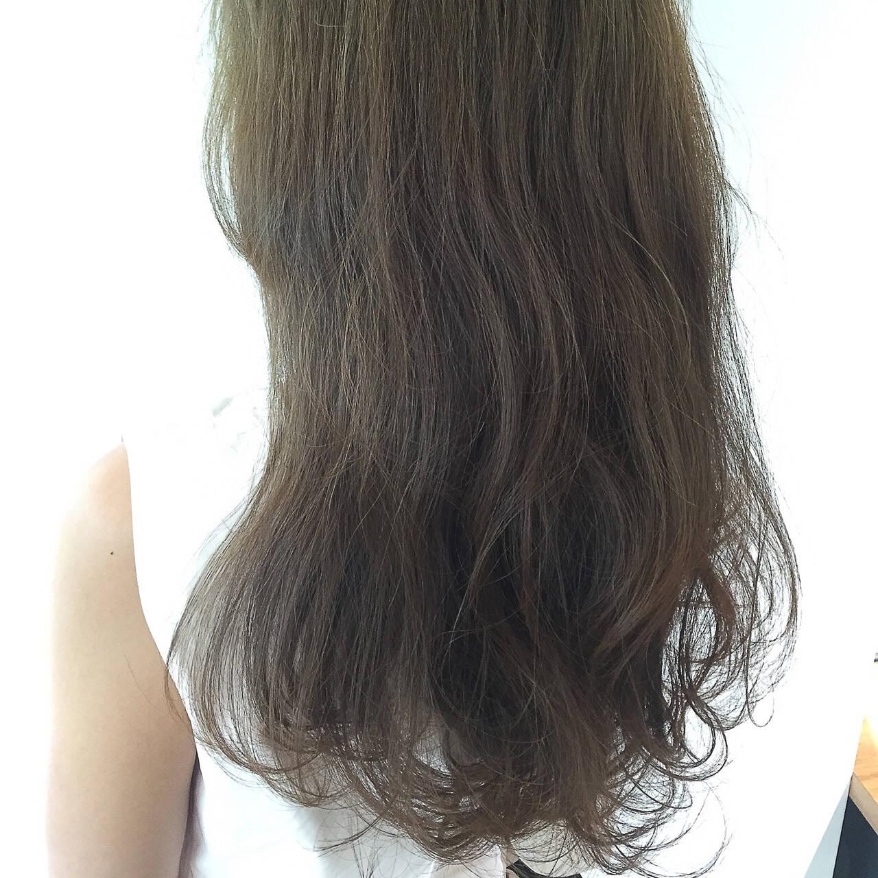 ナチュラル 外国人風 大人かわいい ロングヘアスタイルや髪型の写真・画像