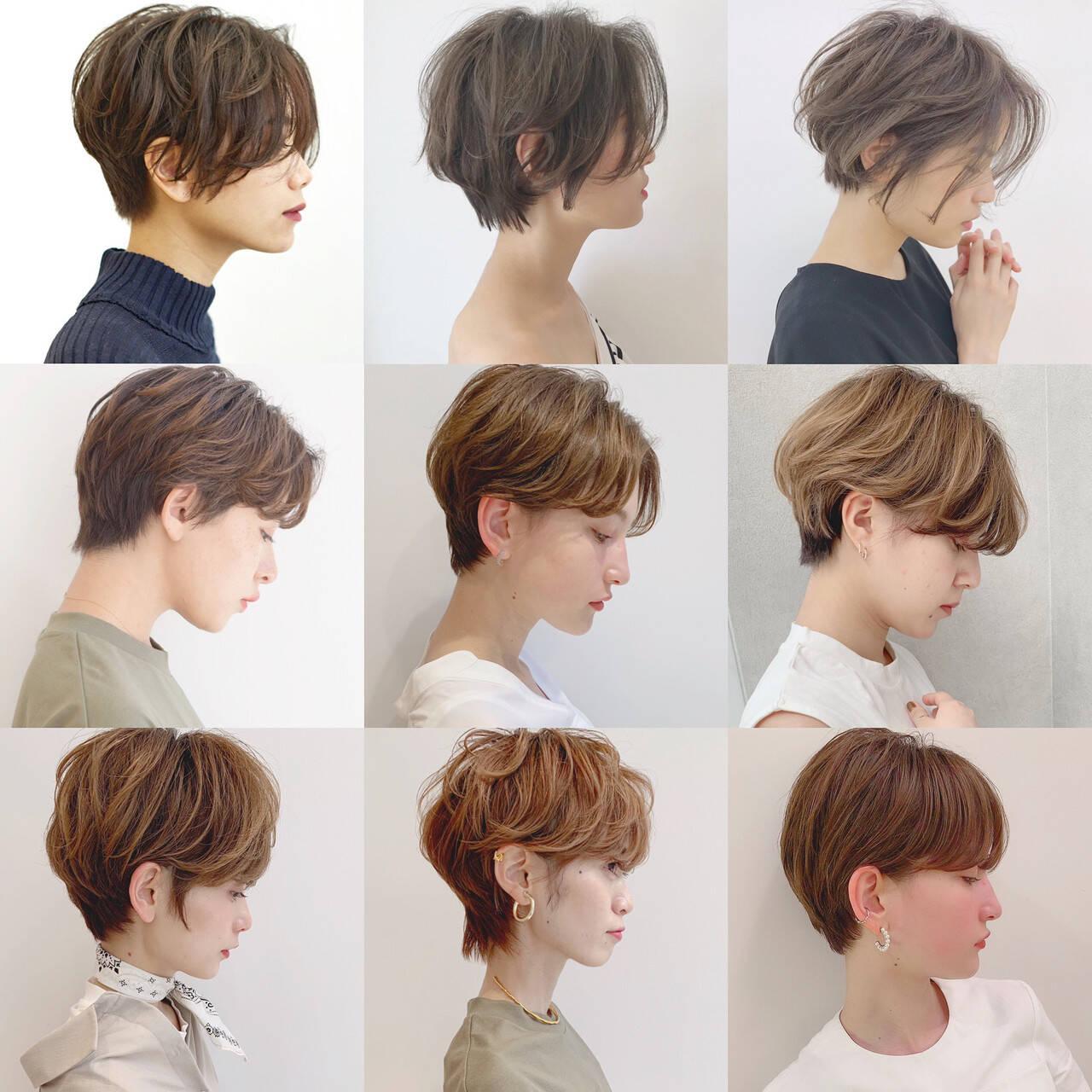 パーマ アウトドア オフィス デートヘアスタイルや髪型の写真・画像