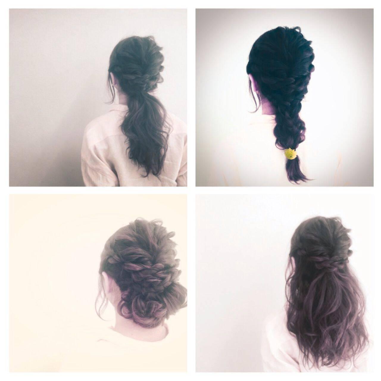愛され ヘアアレンジ 春 モテ髪ヘアスタイルや髪型の写真・画像