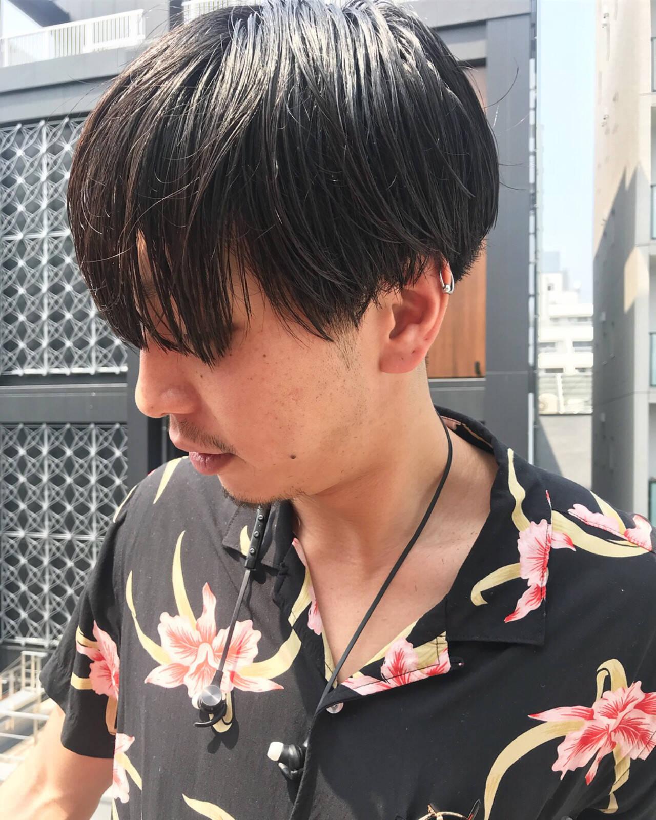 刈り上げ メンズ ショート ボーイッシュヘアスタイルや髪型の写真・画像