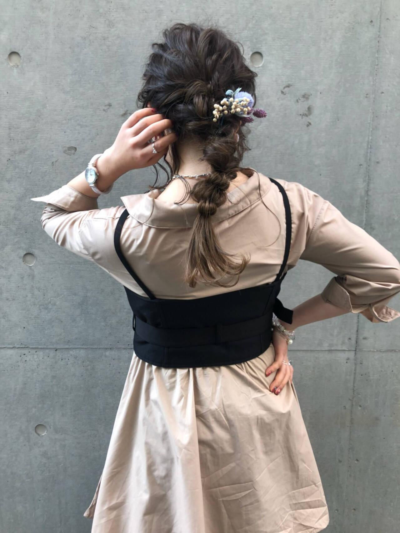 フェミニン 成人式 結婚式 デートヘアスタイルや髪型の写真・画像