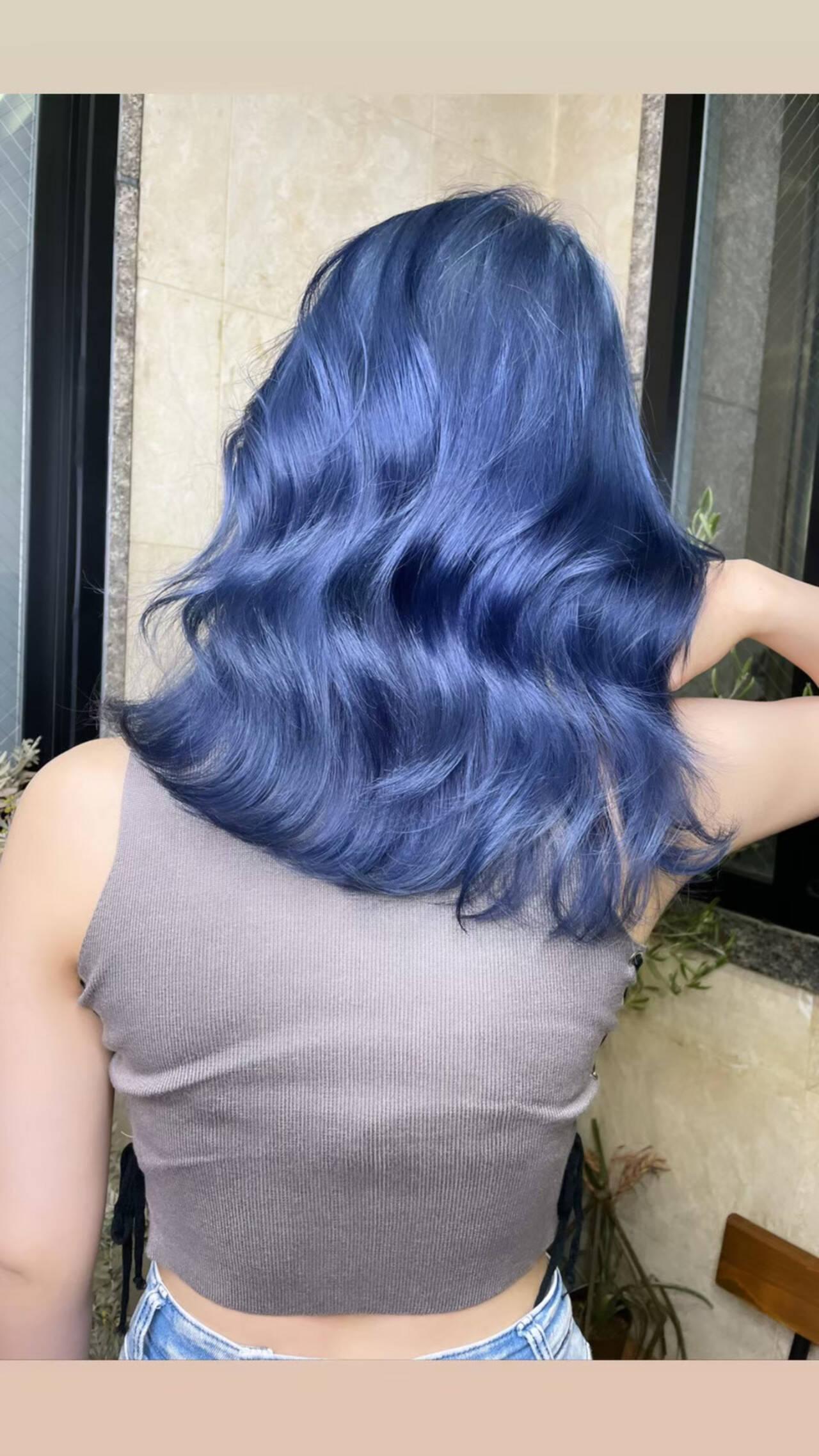 ハイトーンカラー ロング ミルクティーベージュ 透明感カラーヘアスタイルや髪型の写真・画像