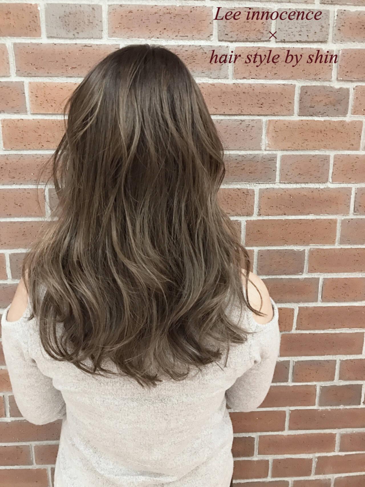 ニュアンス 大人かわいい ミルクティー ナチュラルヘアスタイルや髪型の写真・画像
