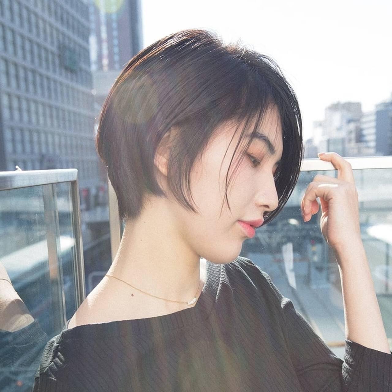 似合わせカット モード グラボブ PEEK-A-BOOヘアスタイルや髪型の写真・画像