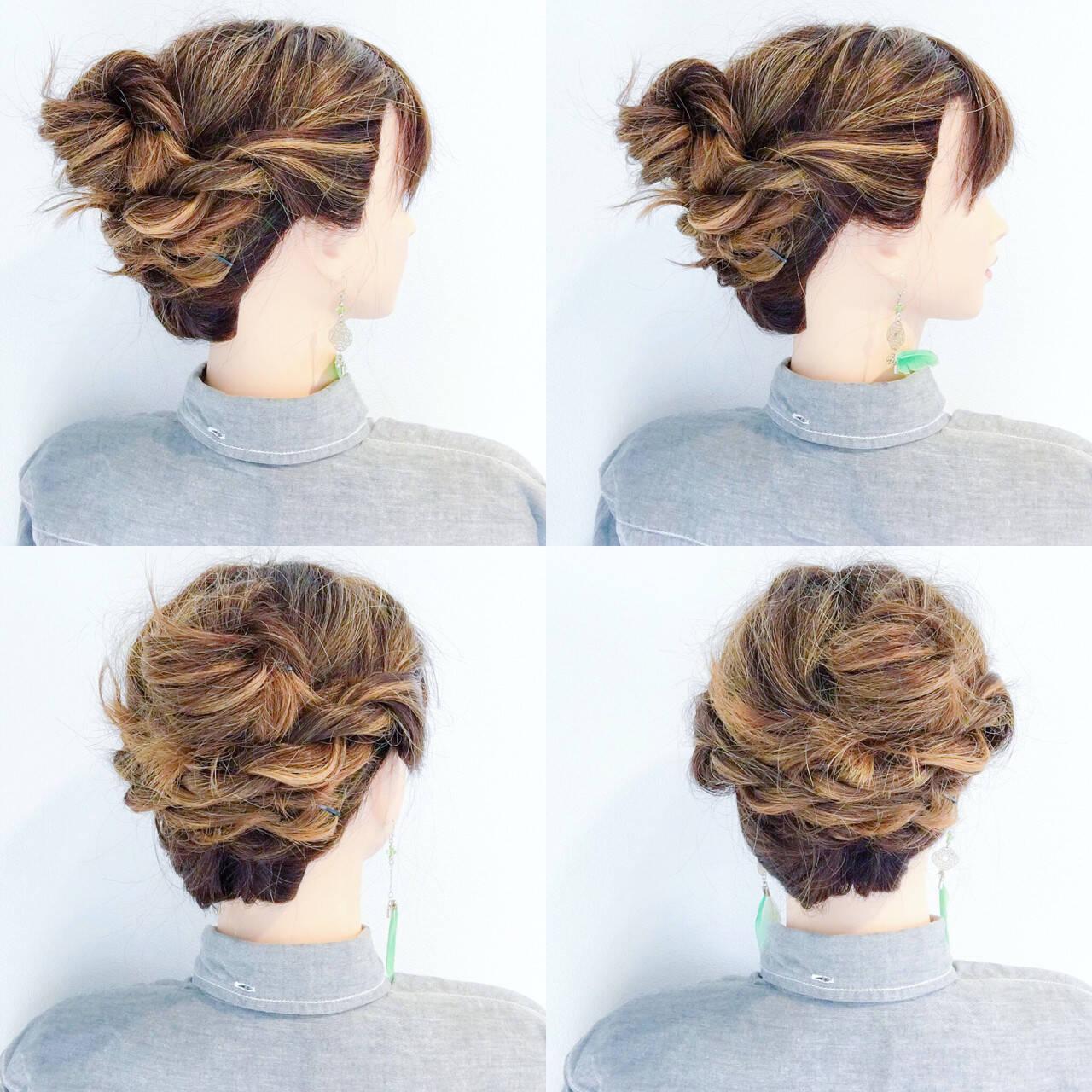 ヘアアレンジ オフィス 色気 涼しげヘアスタイルや髪型の写真・画像