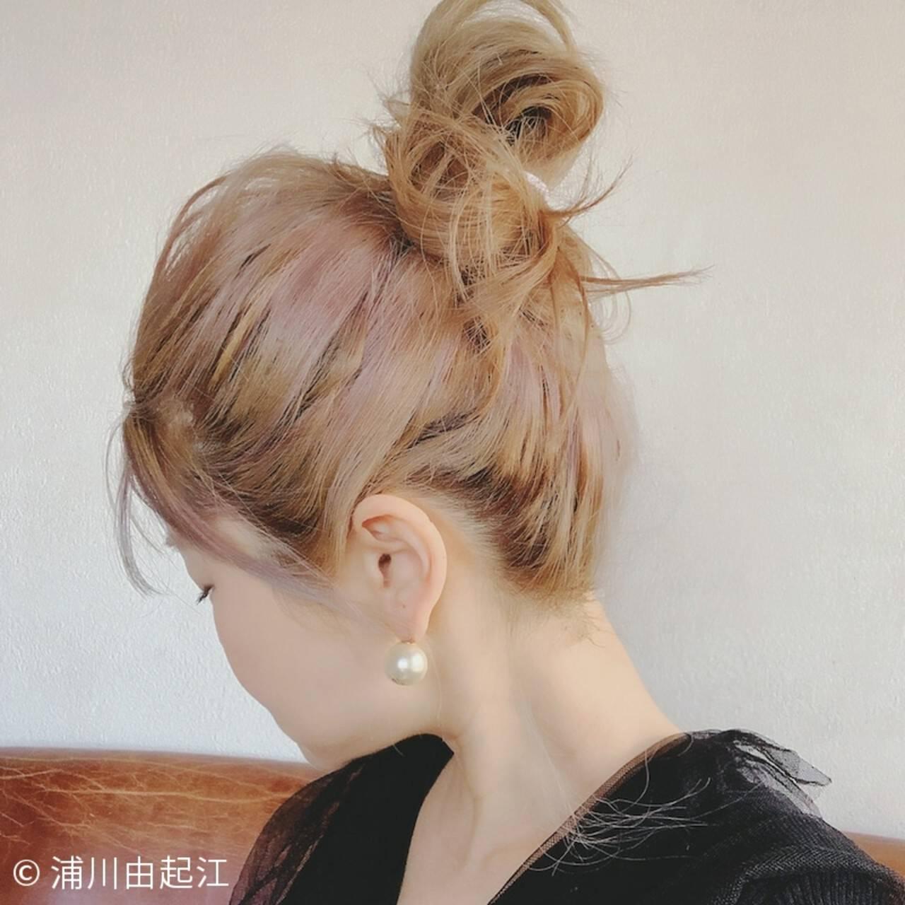 アンニュイほつれヘア ゆるふわ ナチュラル ハイライトヘアスタイルや髪型の写真・画像