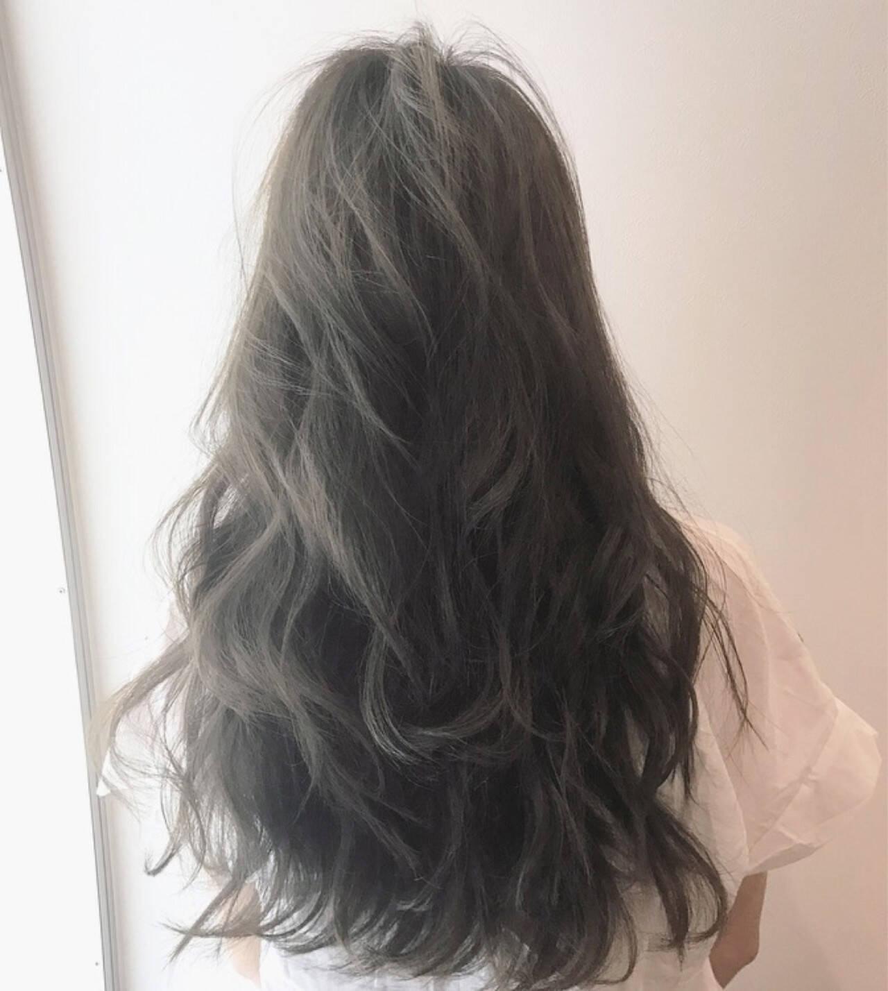 エレガント アンニュイ ヘアアレンジ ロングヘアスタイルや髪型の写真・画像