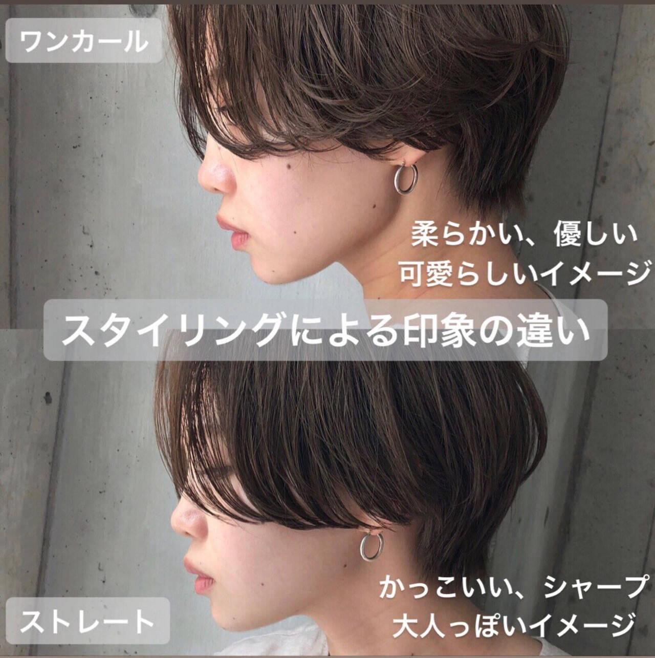 ショート ショートヘア ミニボブ ハンサムショートヘアスタイルや髪型の写真・画像