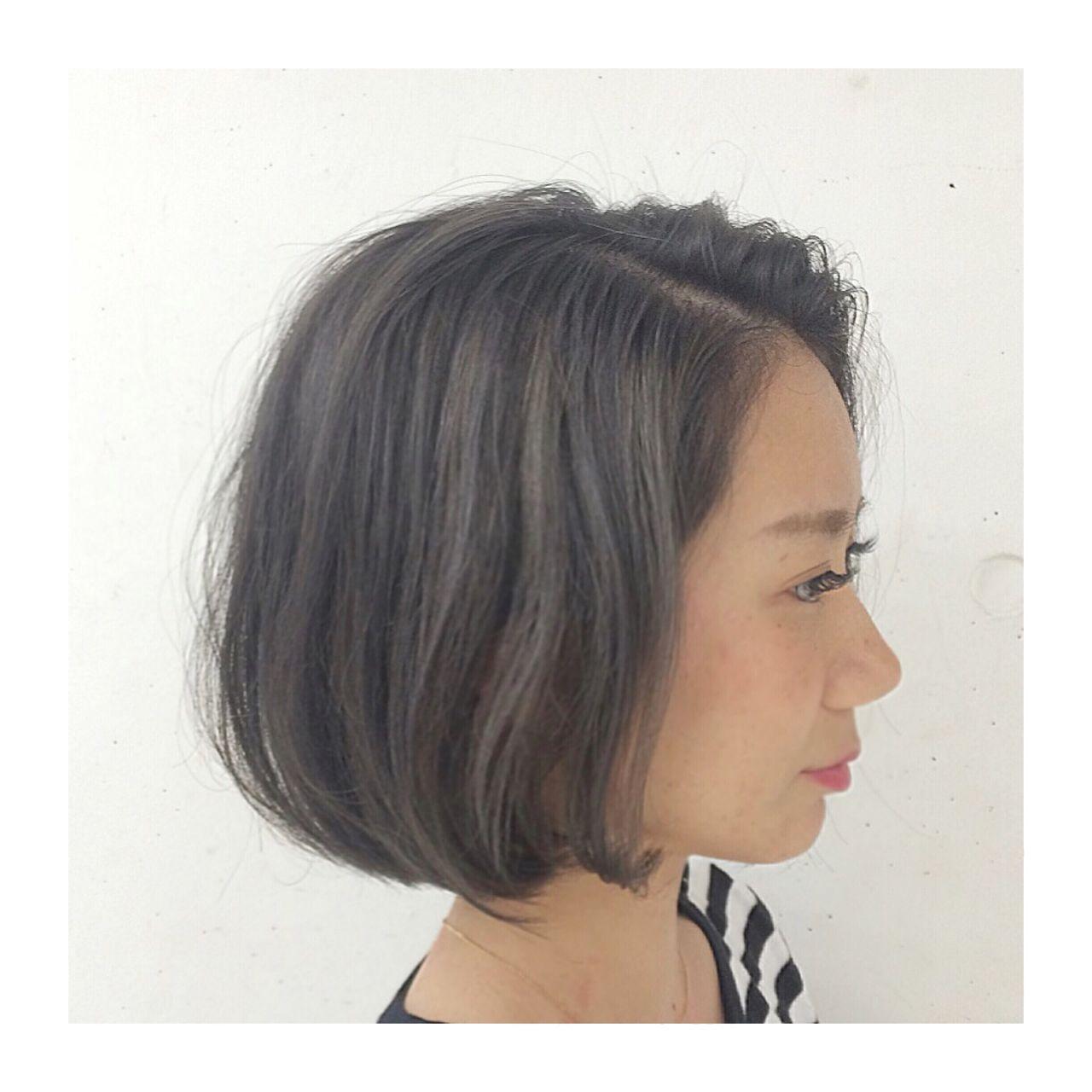 ストリート ボブ マルサラヘアスタイルや髪型の写真・画像