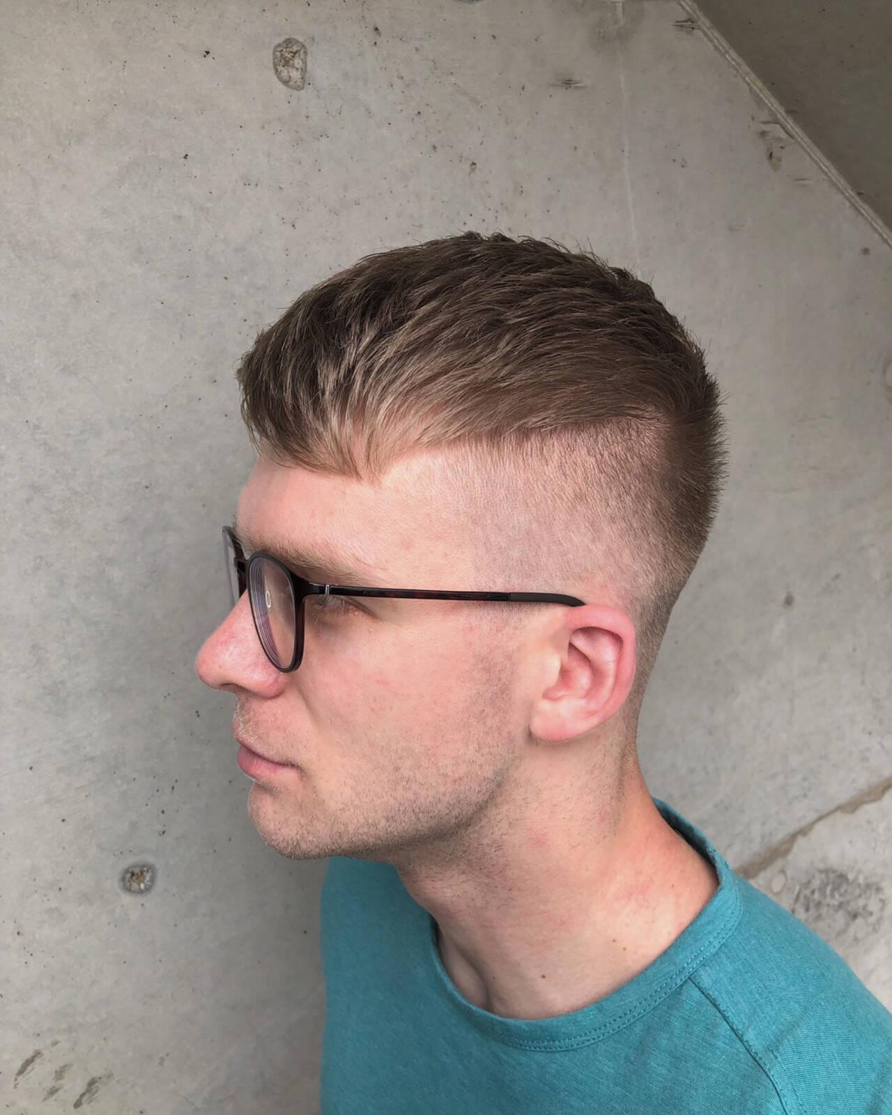 スキンフェード フェードカット メンズカット ストリートヘアスタイルや髪型の写真・画像