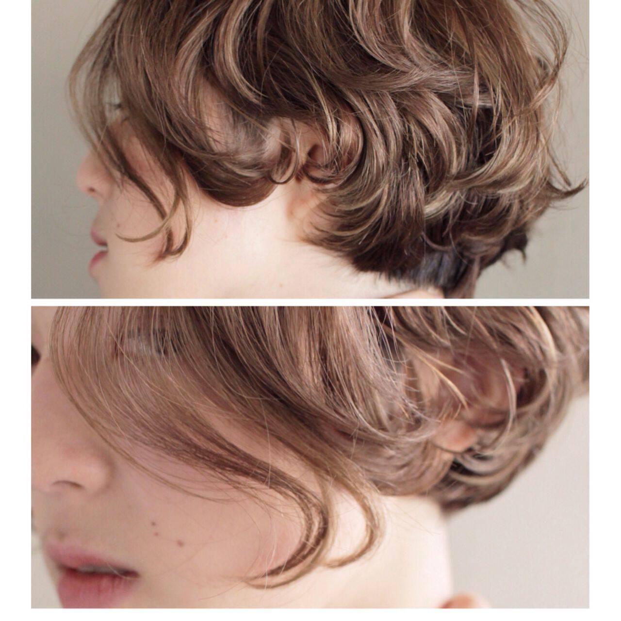 抜け感 ボブ 外国人風 秋ヘアスタイルや髪型の写真・画像