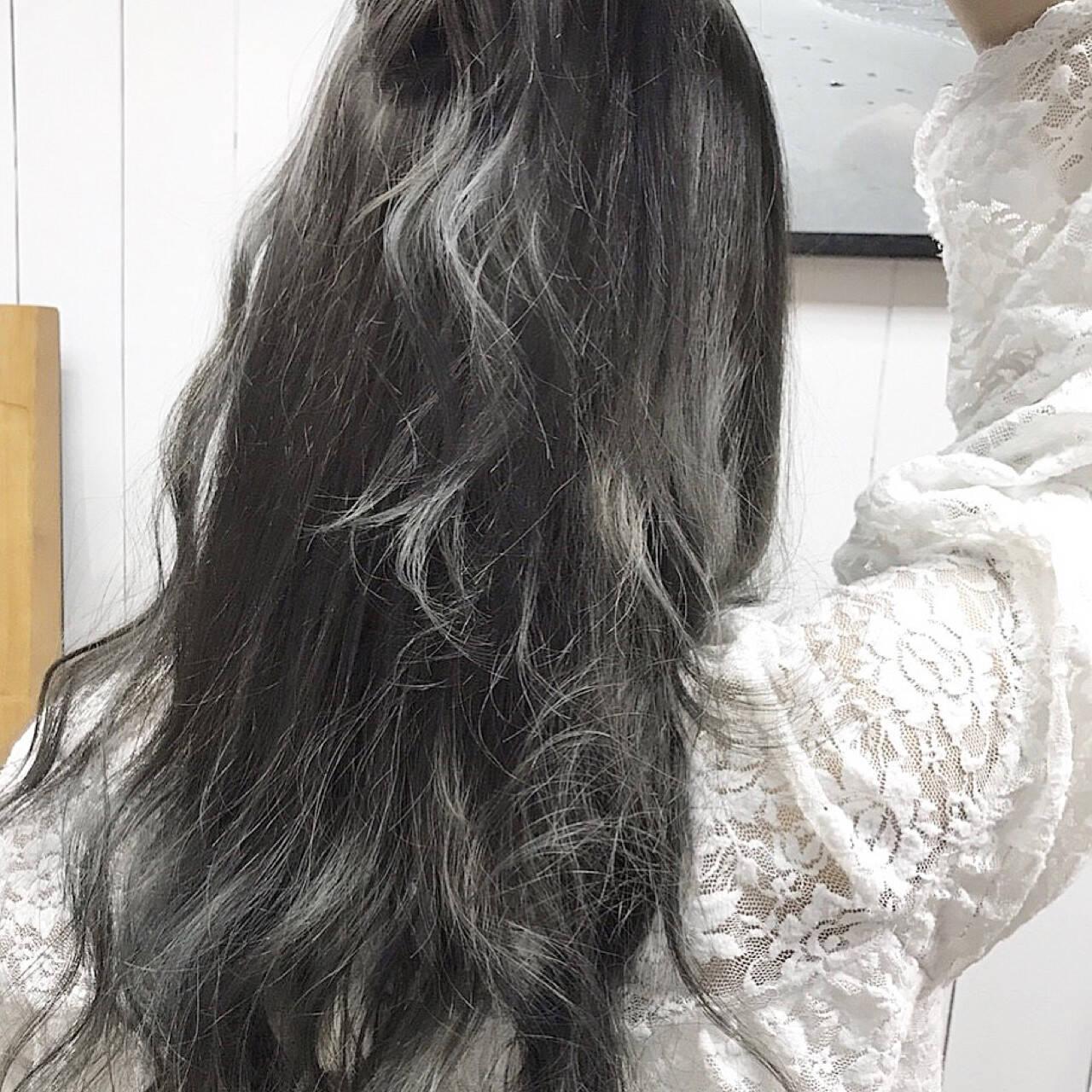 外国人風カラー ナチュラル グラデーションカラー 外国人風ヘアスタイルや髪型の写真・画像