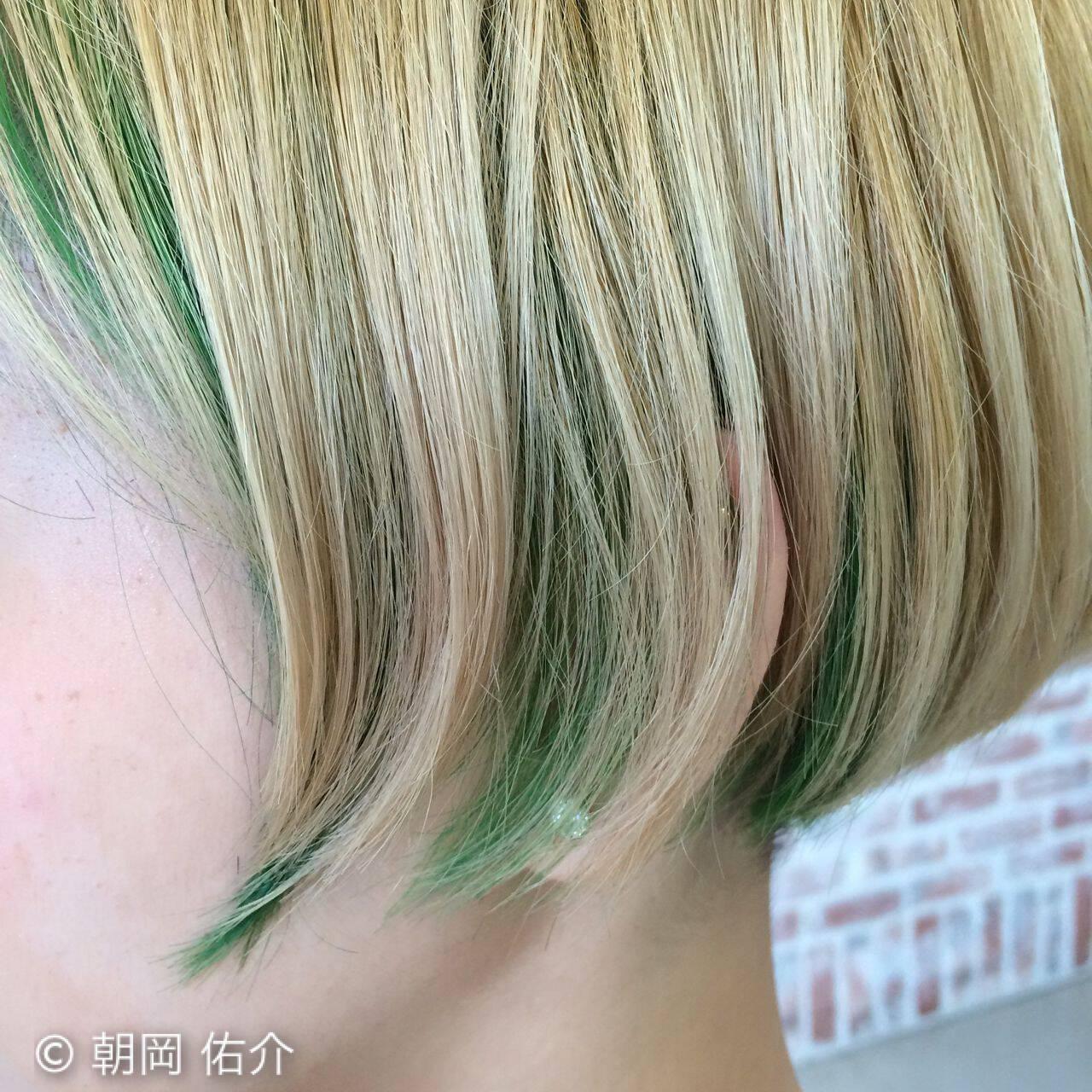 春 ストリート パンクヘアスタイルや髪型の写真・画像