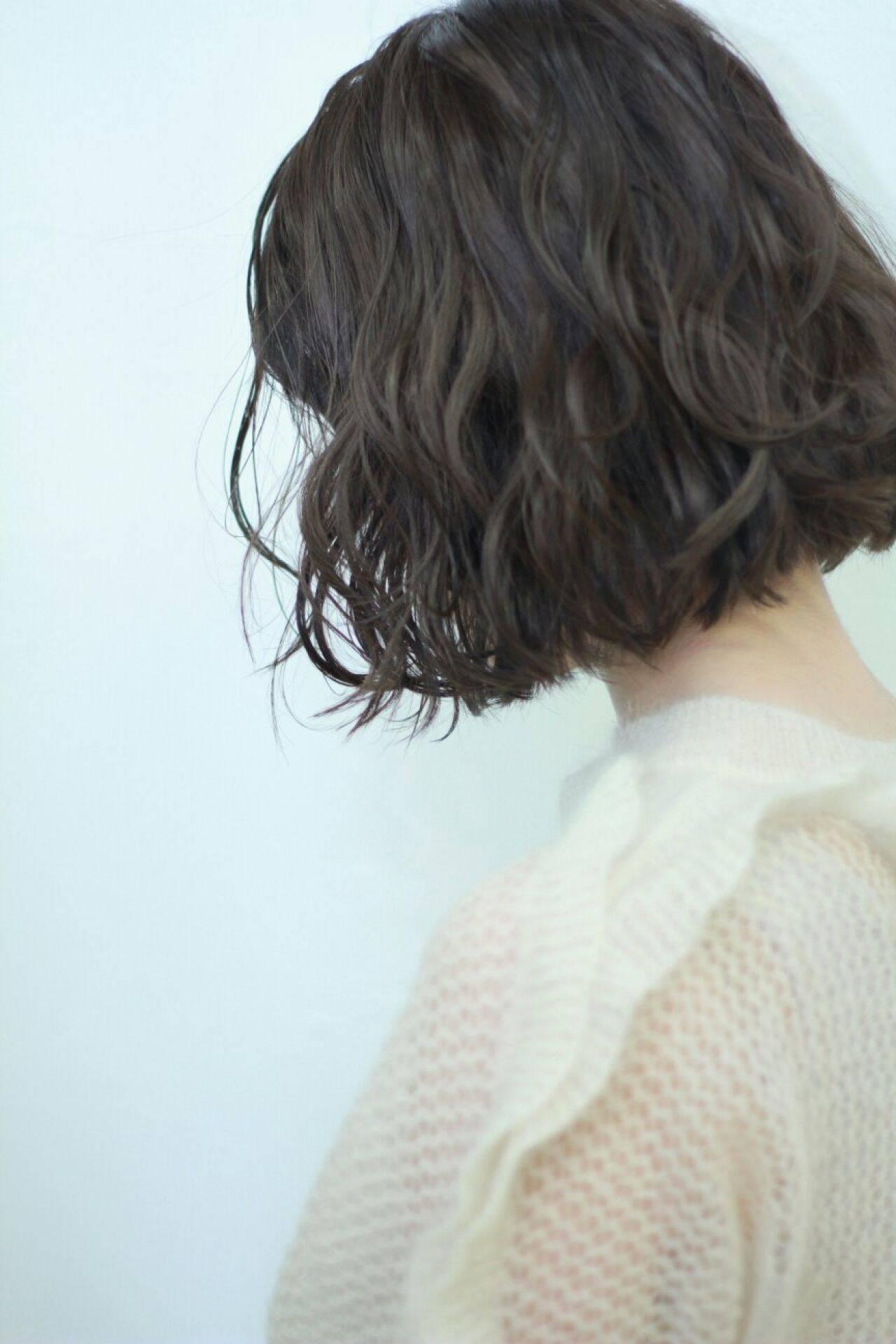 黒髪 ヘアアレンジ ショート ストリートヘアスタイルや髪型の写真・画像