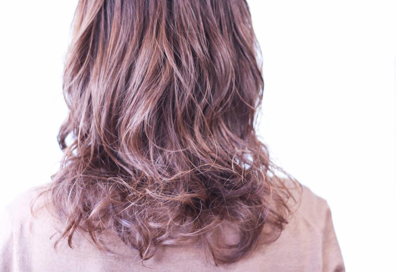 無造作パーマ パーマ ワンカールパーマ パーマヘアスタイルや髪型の写真・画像