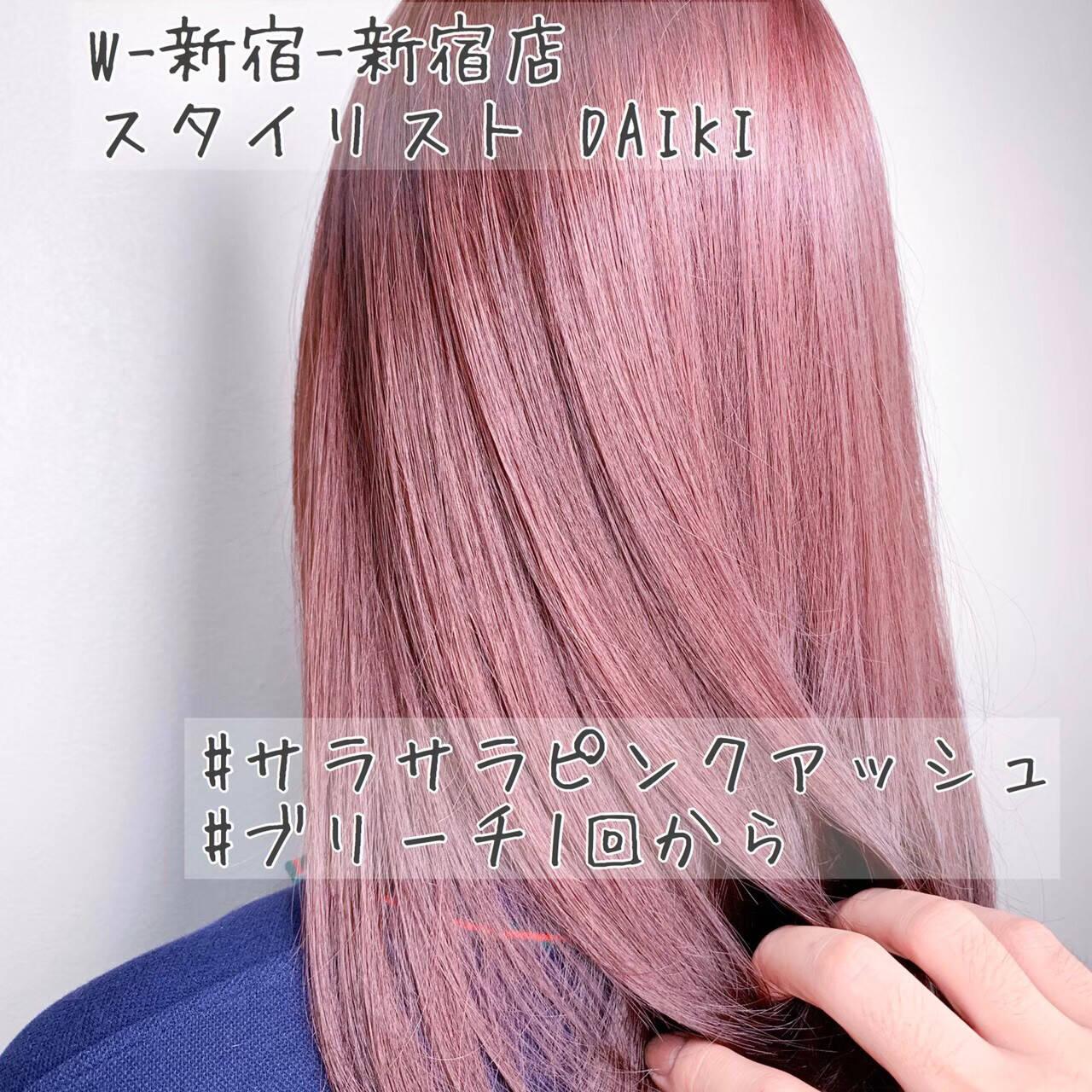 オフィス ナチュラル ハイライト インナーカラーヘアスタイルや髪型の写真・画像