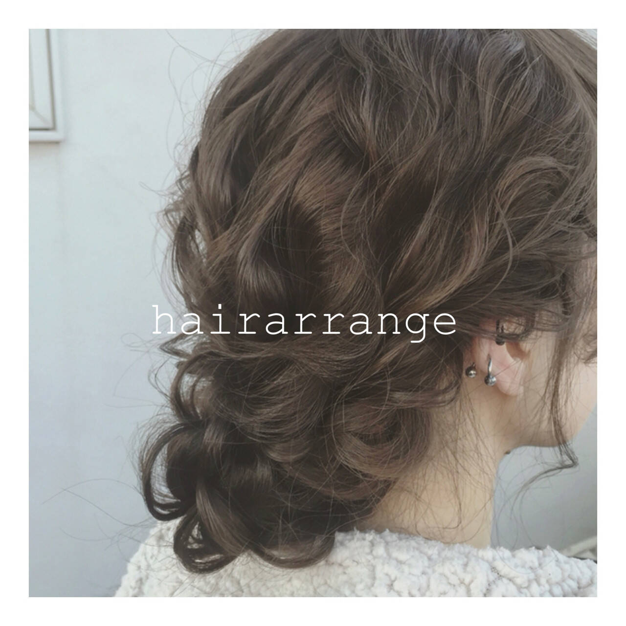 セミロング ゆるふわ ヘアアレンジ 大人かわいいヘアスタイルや髪型の写真・画像
