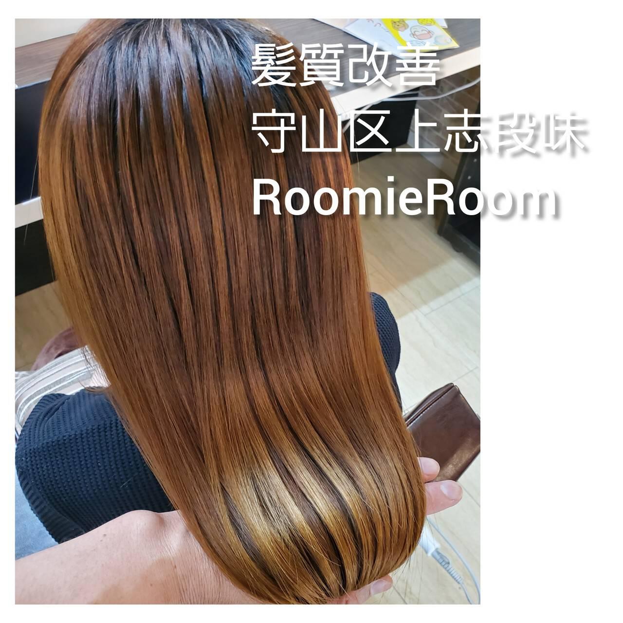 美髪 ナチュラル 髪の病院 セミロングヘアスタイルや髪型の写真・画像