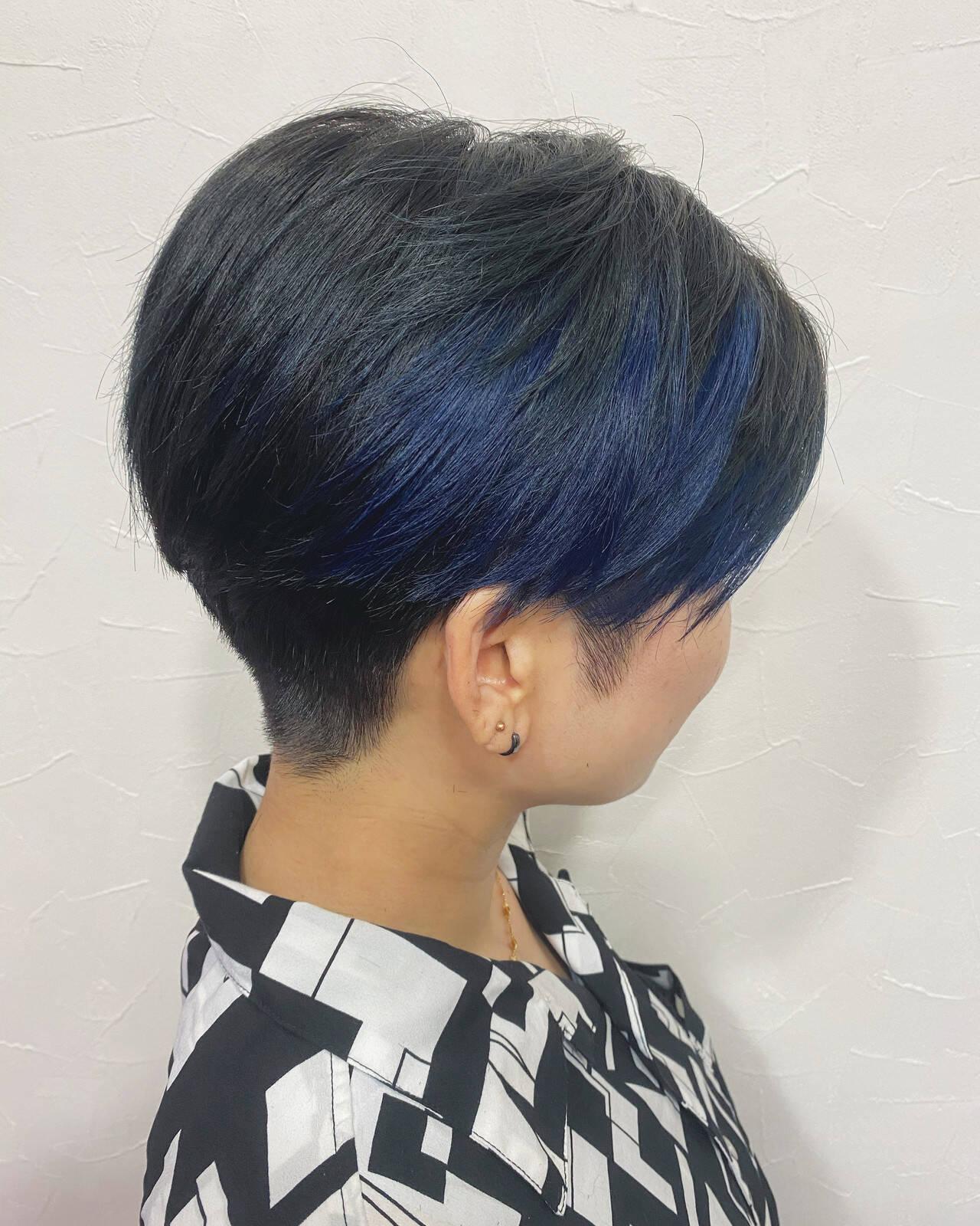 ベリーショート ショート ショートヘア ショートボブヘアスタイルや髪型の写真・画像