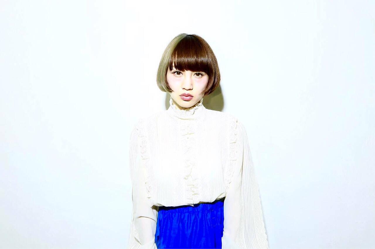 ショート 外国人風 前髪あり 大人かわいいヘアスタイルや髪型の写真・画像