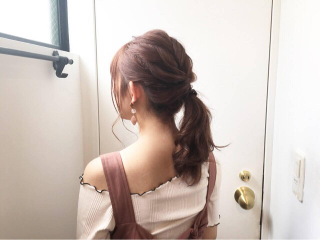 ピンクブラウン ベリーピンク ピンクベージュ ナチュラルヘアスタイルや髪型の写真・画像