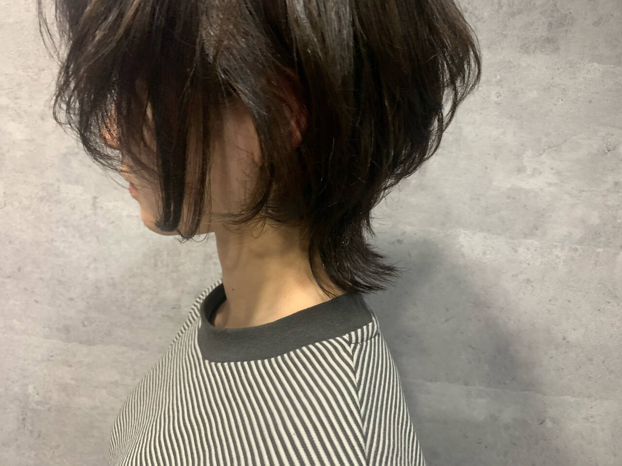 ウルフカット ナチュラル ウルフ女子 ショートヘアスタイルや髪型の写真・画像