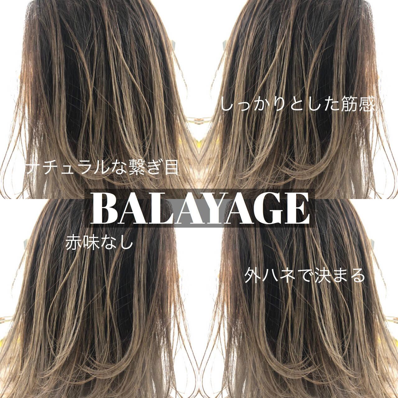 外国人風カラー ミディアム グラデーションカラー ストリートヘアスタイルや髪型の写真・画像