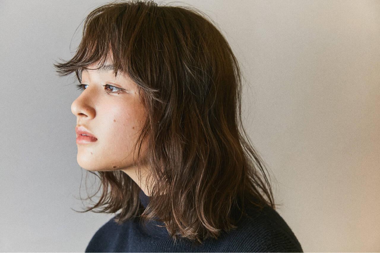 デート ボブ モード パーマヘアスタイルや髪型の写真・画像