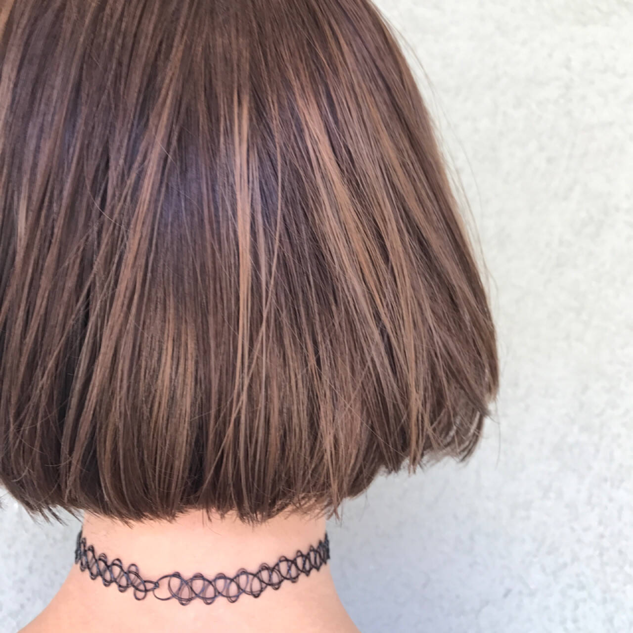 ハイライト ボブ モード 艶髪ヘアスタイルや髪型の写真・画像