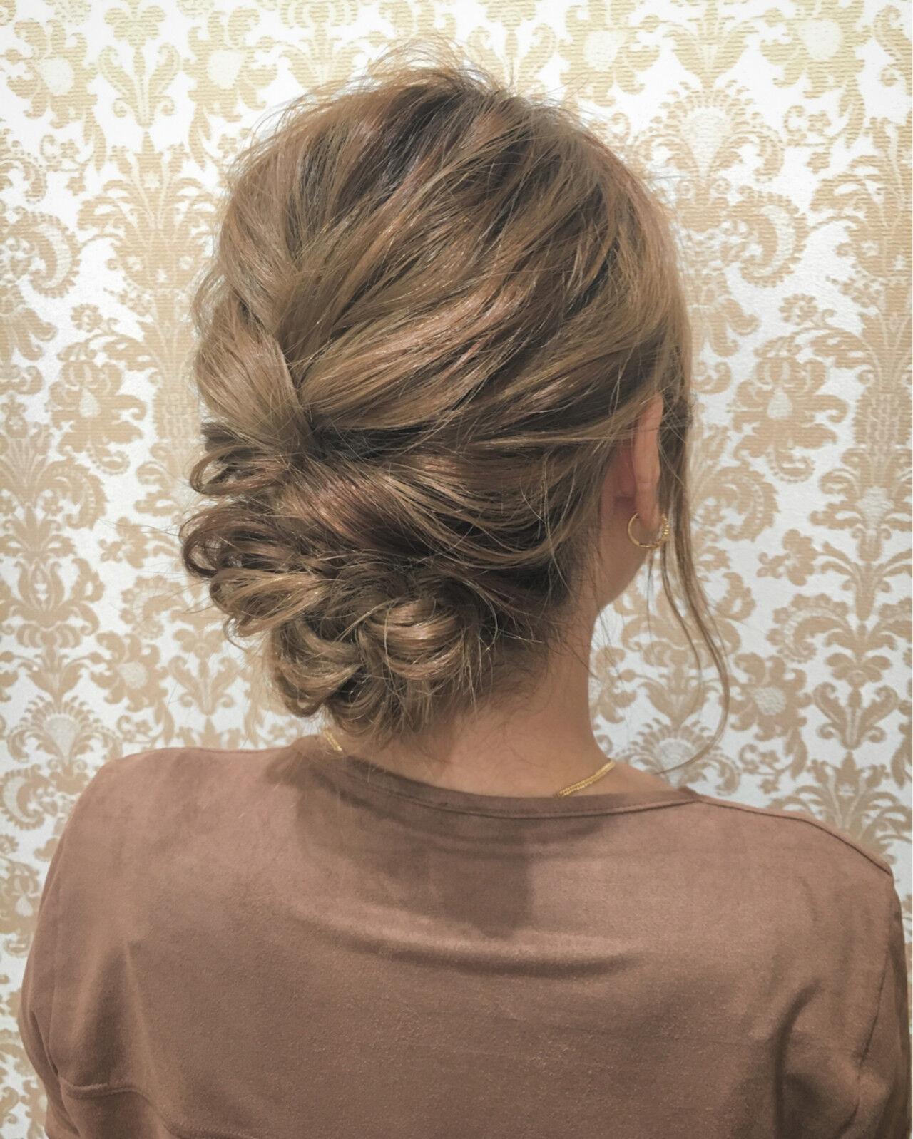 ショート 簡単ヘアアレンジ 外国人風 大人女子ヘアスタイルや髪型の写真・画像