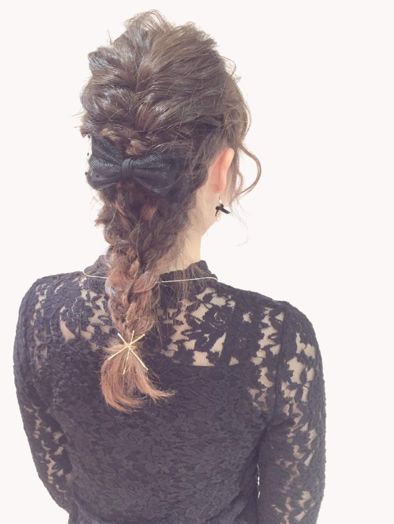ミディアム ショート 簡単ヘアアレンジ 大人かわいいヘアスタイルや髪型の写真・画像