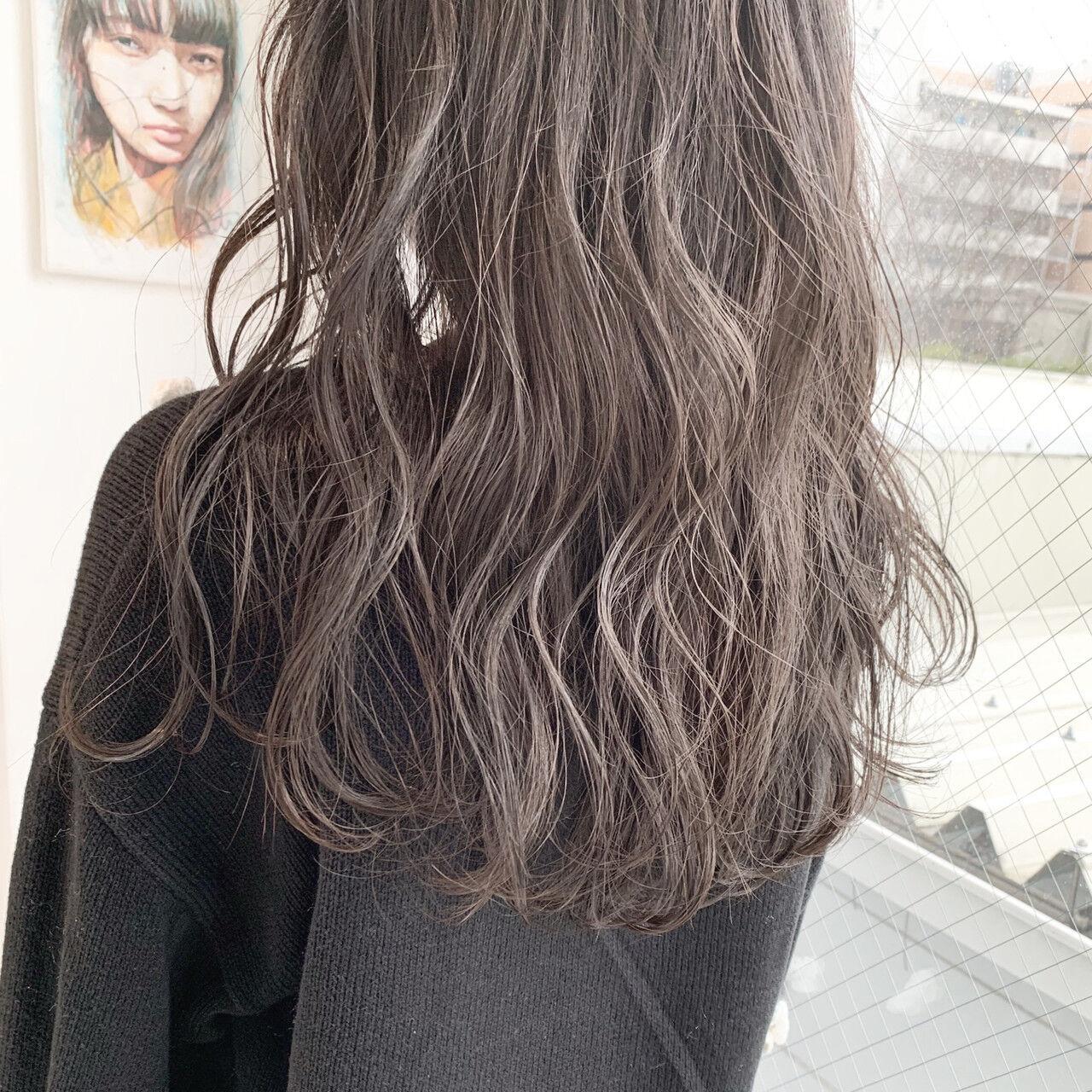 外国人風カラー アンニュイほつれヘア 簡単ヘアアレンジ ナチュラルヘアスタイルや髪型の写真・画像