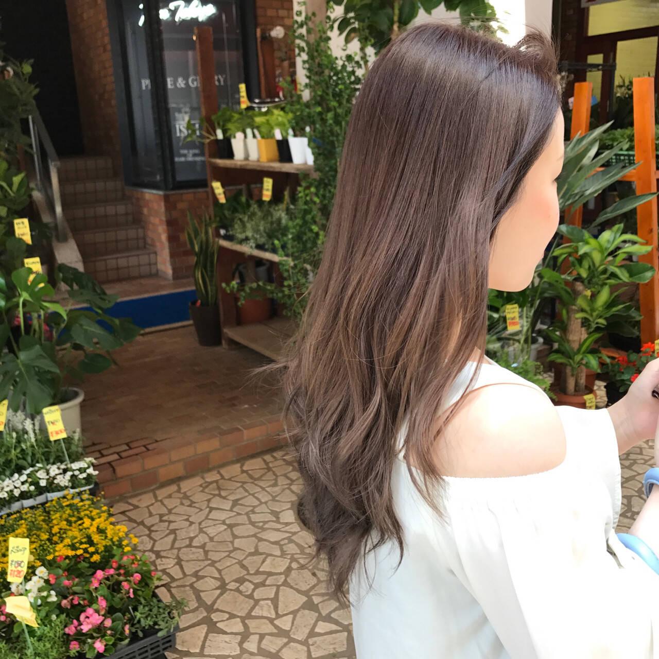 デート ロング 女子会 ナチュラルヘアスタイルや髪型の写真・画像