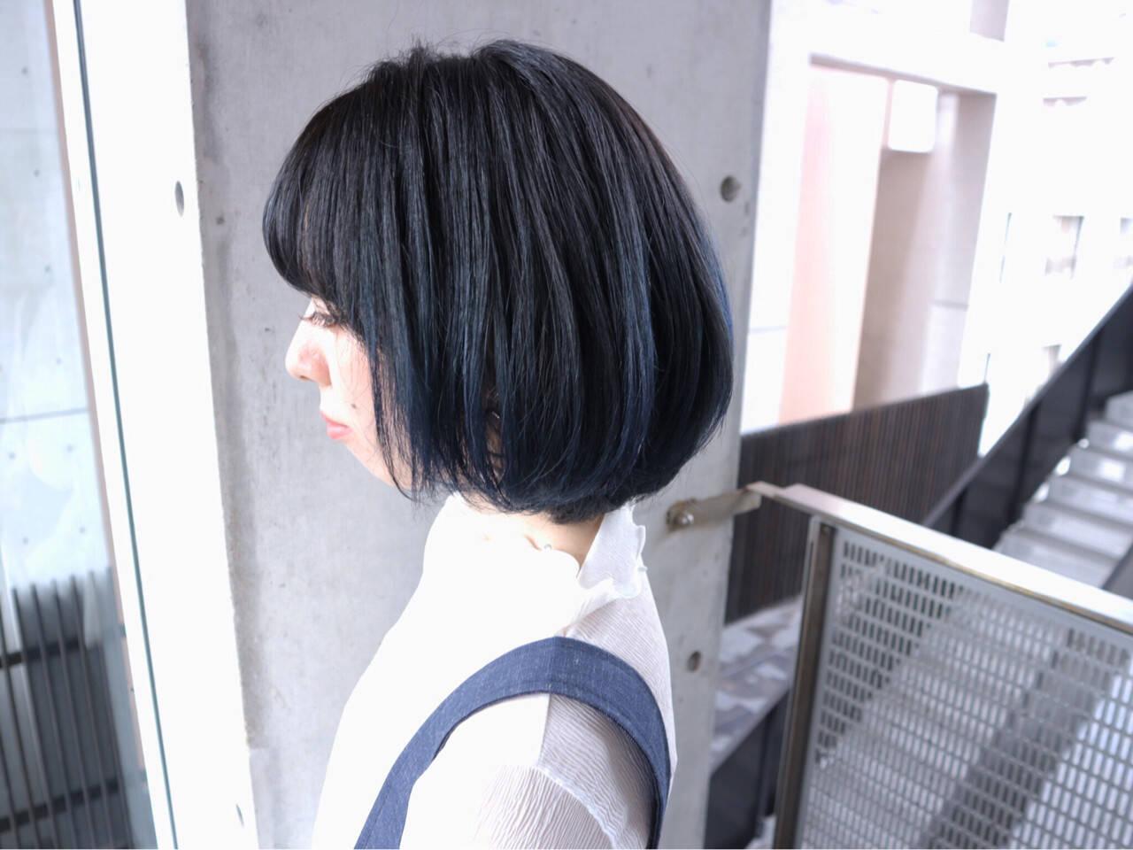 ブルージュ ストリート 色気 小顔ヘアスタイルや髪型の写真・画像