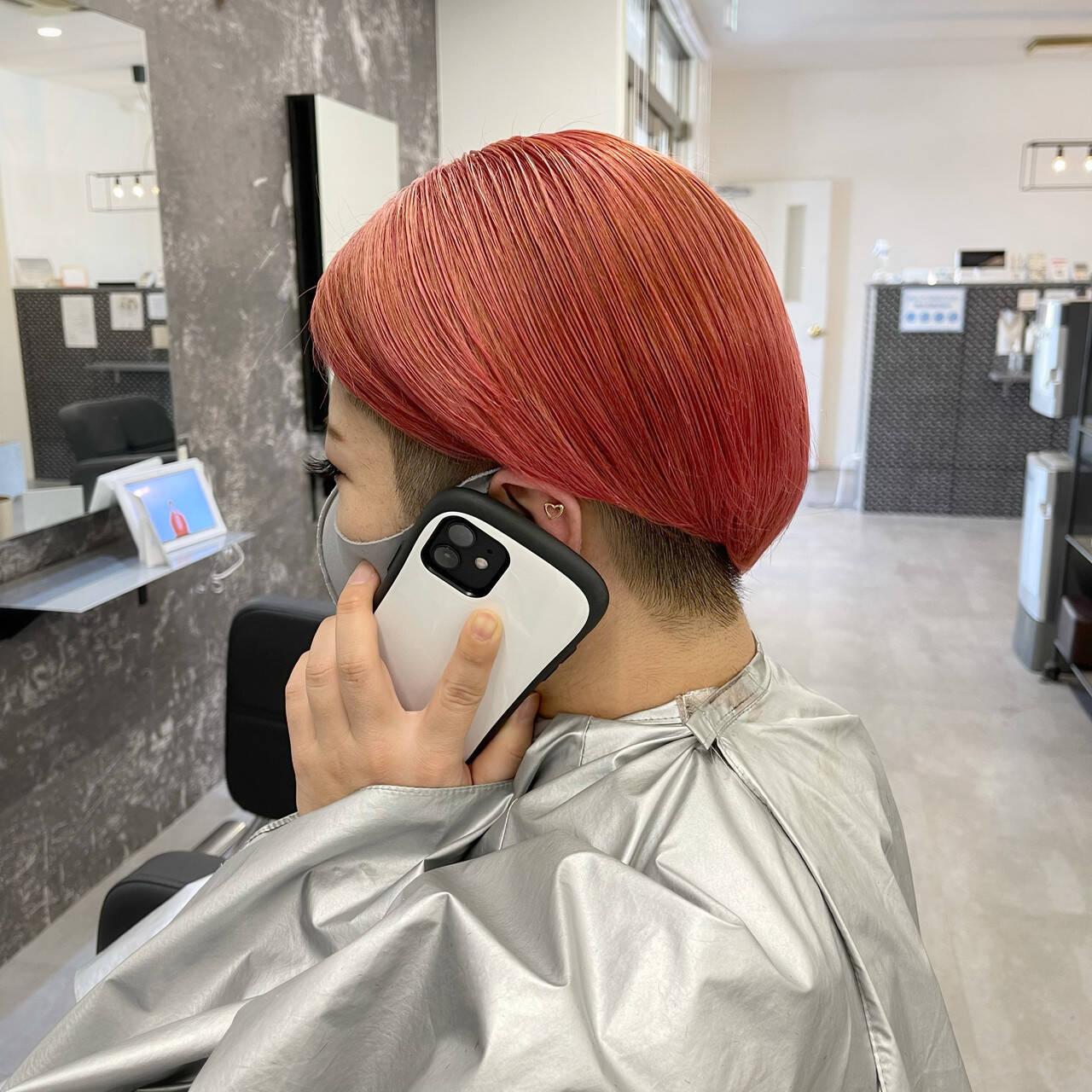 艶髪 ショートヘア 髪質改善 ストリートヘアスタイルや髪型の写真・画像
