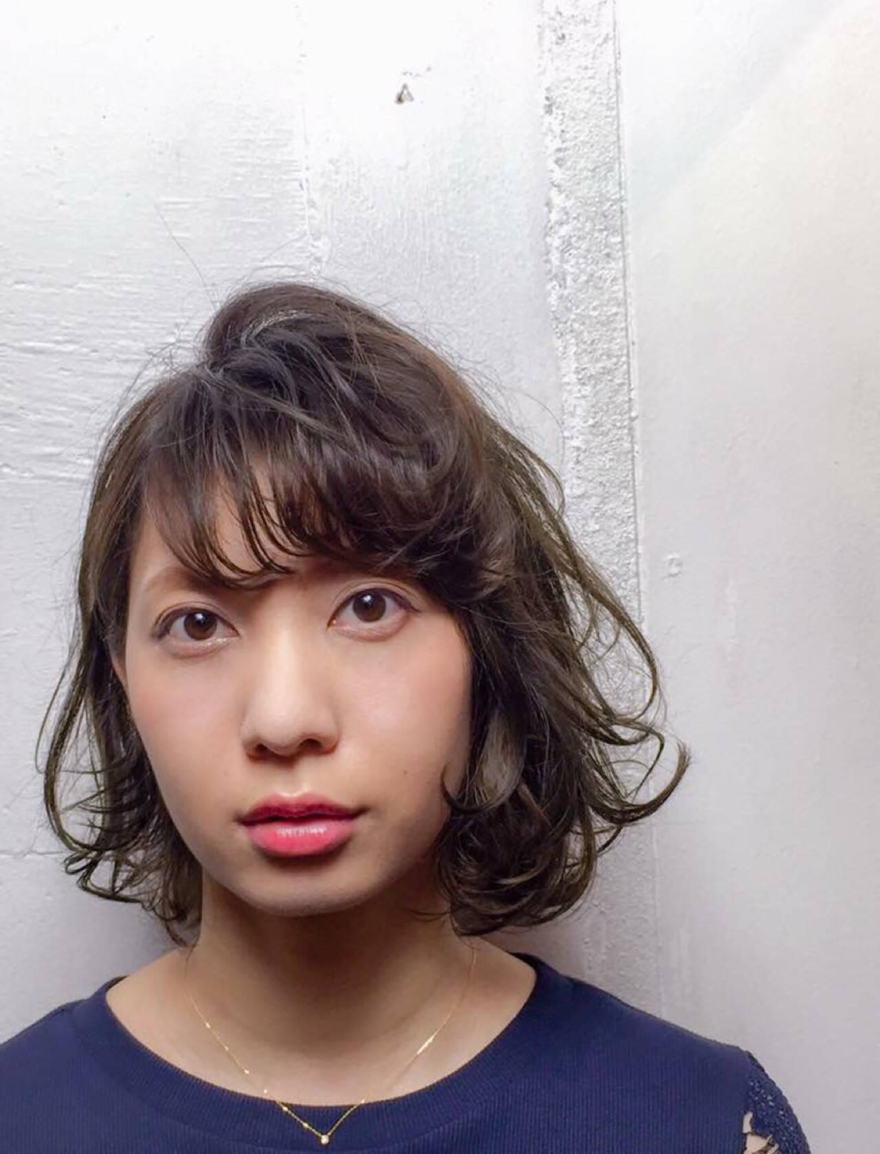 外国人風 カール アッシュ 大人かわいいヘアスタイルや髪型の写真・画像