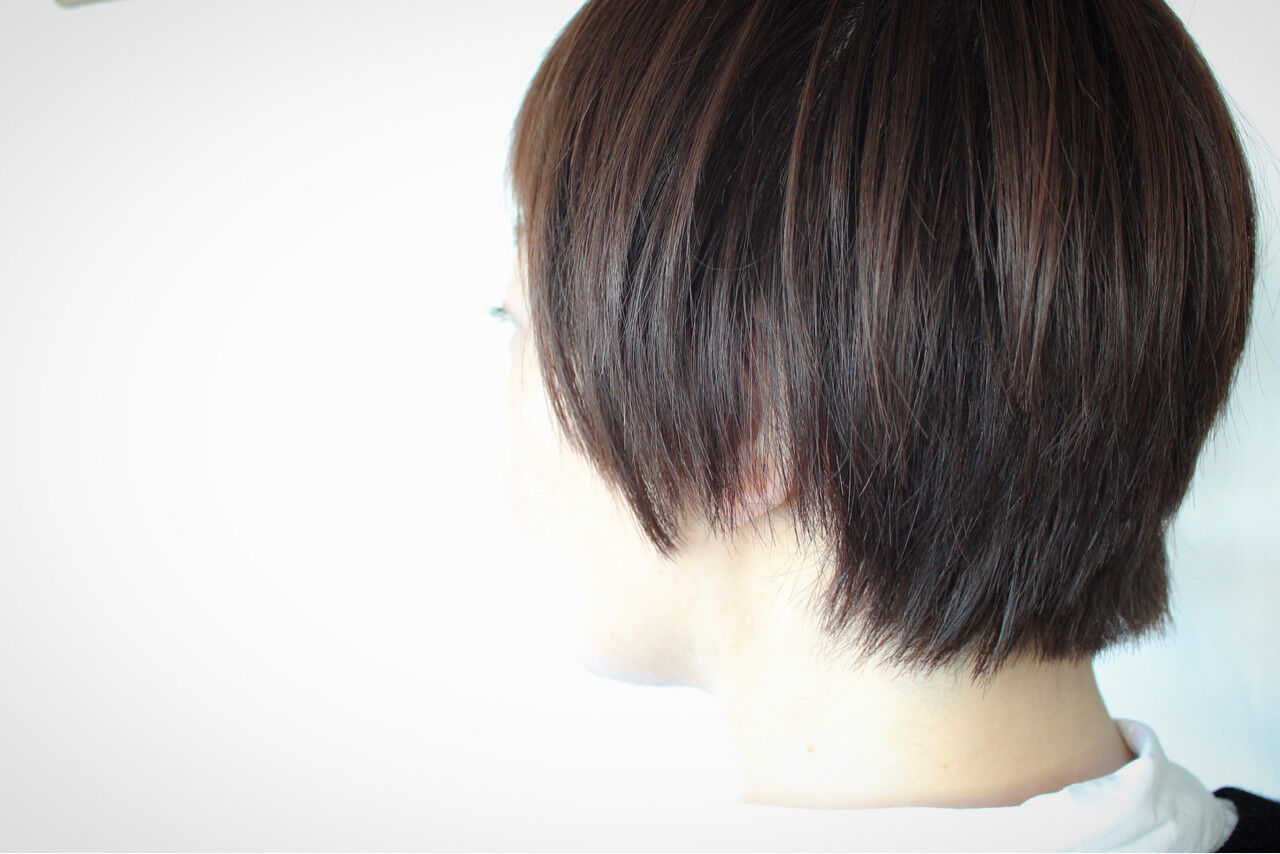 ショート ボブ 田中美保 大人女子ヘアスタイルや髪型の写真・画像