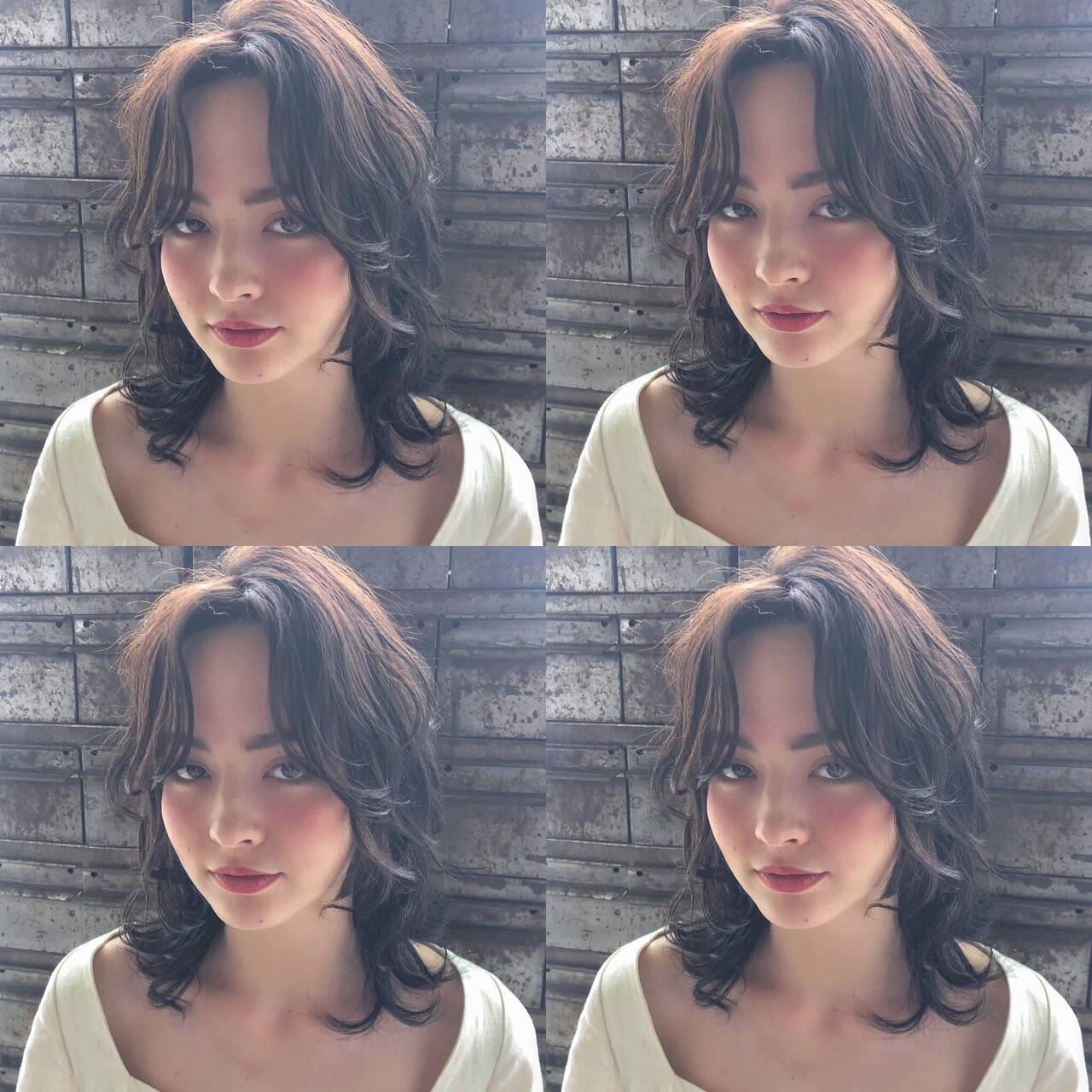 ヘアアレンジ 韓国 ナチュラル 簡単ヘアアレンジヘアスタイルや髪型の写真・画像
