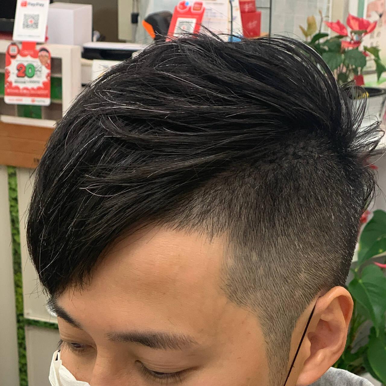 ショート メンズショート ツーブロック メンズヘアスタイルや髪型の写真・画像