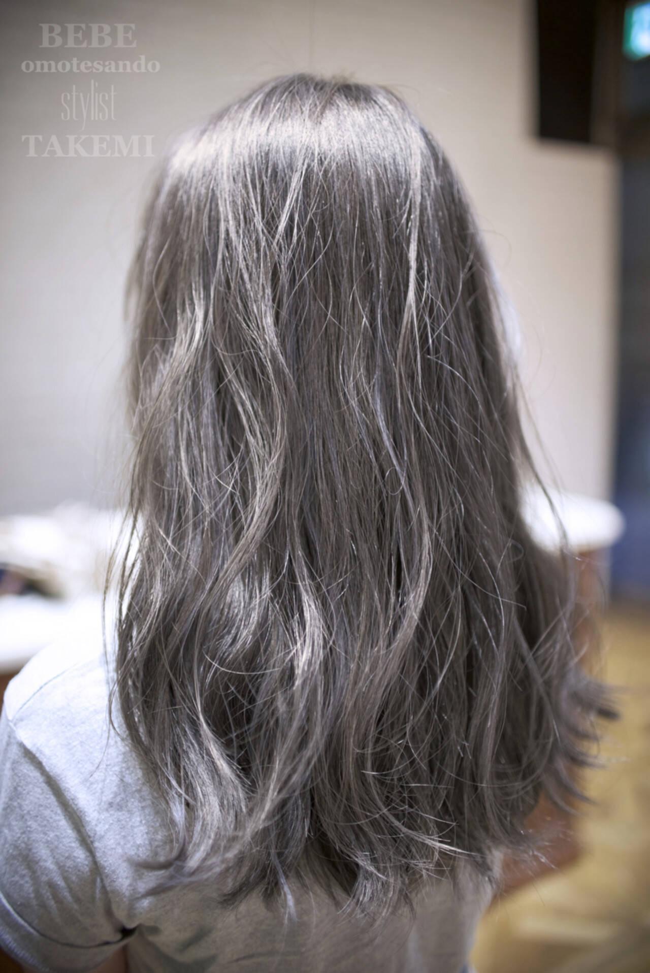 外国人風 ハイライト 大人かわいい 暗髪ヘアスタイルや髪型の写真・画像