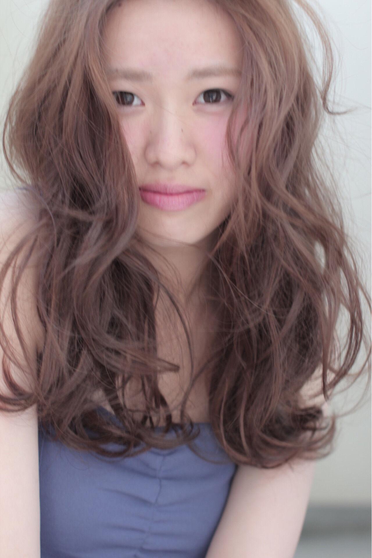 外国人風 ピュア ナチュラル ゆるふわヘアスタイルや髪型の写真・画像