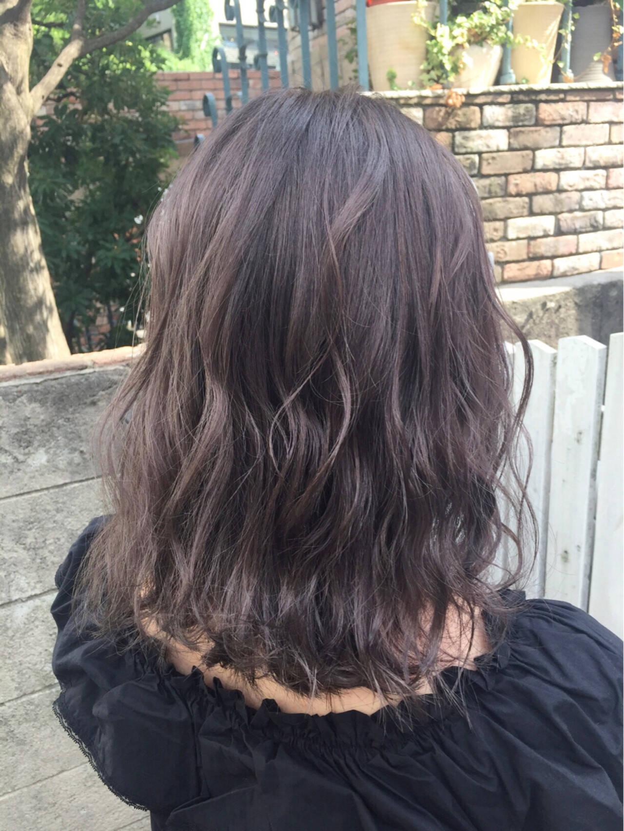 秋 フェミニン ミディアム ヘアアレンジヘアスタイルや髪型の写真・画像