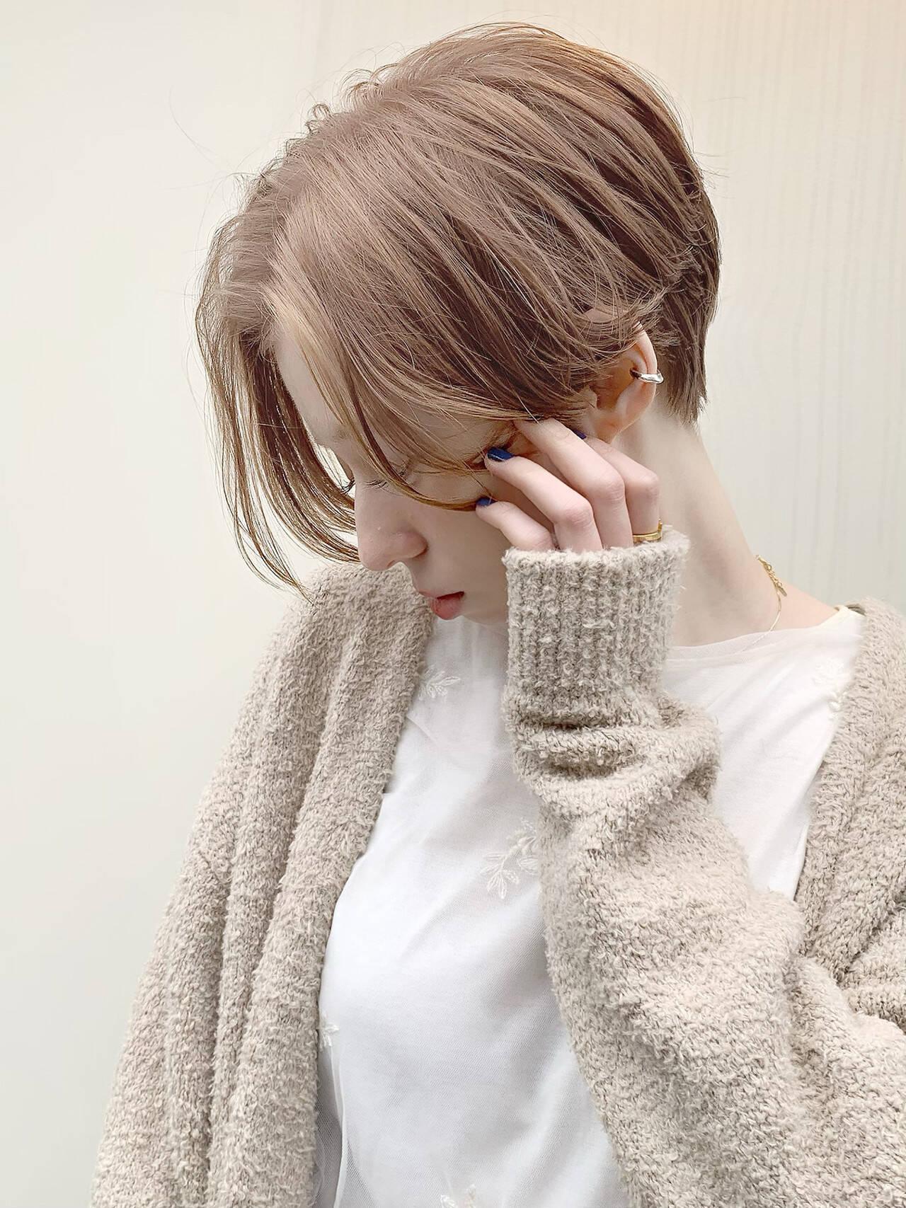 ショートヘア ベリーショート ミニボブ ショートヘアスタイルや髪型の写真・画像