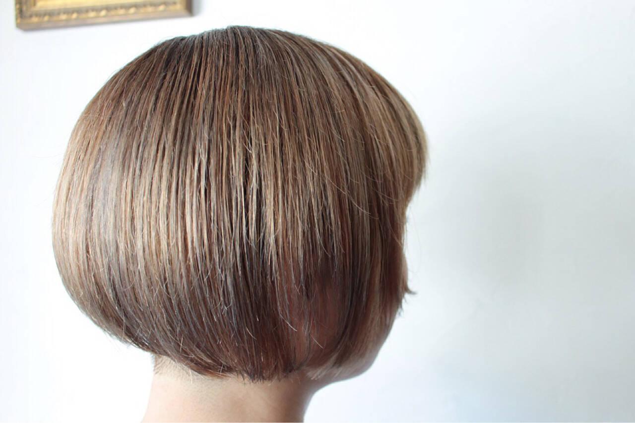 小顔 外国人風 ナチュラル 大人女子ヘアスタイルや髪型の写真・画像