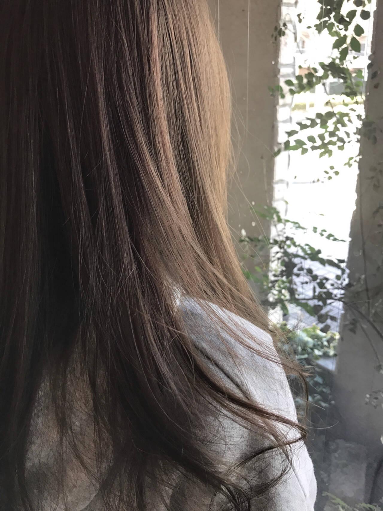 ナチュラル アッシュ 春 外国人風カラーヘアスタイルや髪型の写真・画像